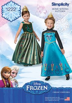 Simplicity Pattern 1222A 3-4-5-6-7--Costumes