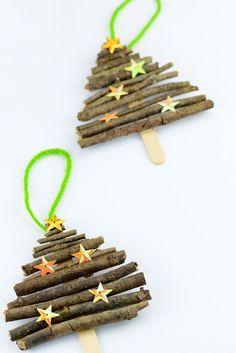 ▷ 1001 + Ideen An Weihnachten Basteln Mit Kindern ▷ Ideas at Christmas Tinker with Kids DIY Winter Crafts for Kids – Kids Crafts # Ideas Kids Crafts, Winter Crafts For Kids, Craft Stick Crafts, Diy For Kids, Diy And Crafts, Craft Sticks, Simple Crafts, Popsicle Sticks, Clay Crafts