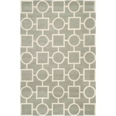 Safavieh Handmade Moroccan Chatham Gray/ Ivory Wool Area Rug (8' x 10') | Overstock.com Shopping - Great Deals on Safavieh 7x9 - 10x14 Rugs