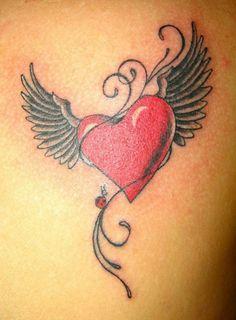 die besten Tattoos für Frauen Herz