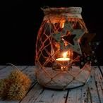 DIY Archieven - Pagina 6 van 11 - Homemade by Joke Christmas Mason Jars, Jar Lights, Country Crafts, Christmas Projects, Diy Tutorial, Lanterns, Crafts For Kids, Candle Holders, Candles