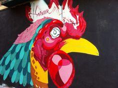 Grafiti El Gallo.