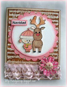 Carolynscrap: Navidad, Navidad, linda Navidad