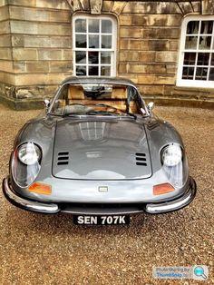 Ferrari Dino Luxury Sports Cars, Classic Sports Cars, Sport Cars, Classic Cars, Porsche Classic, Maserati, Bugatti, Ferrari Dino, Ferrari Car