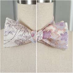 More two different sides bow ties are listed at my store! Check them out!
