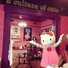 "Located at 3512 Magazine Street in New Orleans, Kawaii NOLA celebrates ""A Culture of Cute."" Kawaii NOLA stocks a variety of jewelry, makeup, nail art, wigs, costumes and colorful clothing, making it a perfect destination for Halloween and Mardi Gras costumes, as well as year-round fun. The shop also carries fun toys, stationery sets and home decor, including, of course, plenty of Hello Kitty."