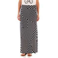 Liz Claiborne Knit Maxi Skirt  found at @JCPenney