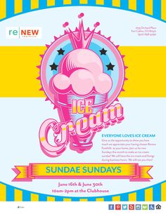 I scream, you scream we all scream for ice cream! Join us for Sundae Sundays on June and We'll have different flavors and toppings to choose from so you can make your perfect sundae. Love Ice Cream, I Scream, Fort Collins, 30th, June, Make It Yourself, Learning, How To Make, Studying