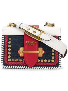 8aff9ae3d791a Prada Cahier shoulder bag - Blue Sapatos, Carteiras, Bolsa Da Prada, Bolsas  De