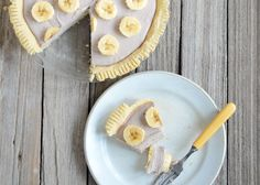 Banana Cream Pie | Paleo Pie Filling Recipe