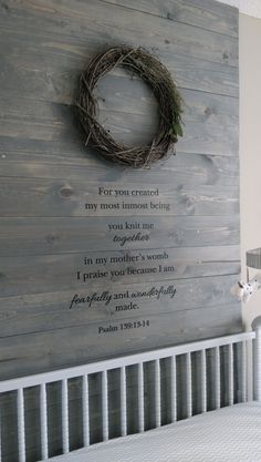 50 Ideas baby shower ides for twins boy and girl project nursery Rustic Baby Rooms, Rustic Nursery, Nursery Neutral, Woodland Nursery, Neutral Nurseries, Baby Room Decor, Nursery Decor, Nursery Ideas, Nursery Wall Quotes