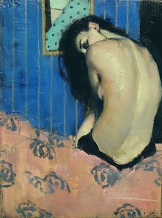 painting by Malcolm T Liepke