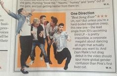 One Direction in Rolling Stones. Why only 3 stars it should be  and more