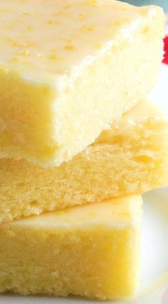 Best Ever Lemon Brownie Bars by WickedGoodKitchen.com ~ Fudgy, lemony and irresistible! The texture of these citrus bars is very similar to brownies and the glaze is like pure sunshine. Perfect for summer entertaining and picnics! Includes gluten free option.