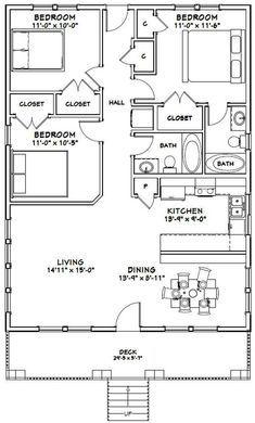 Barn Homes Floor Plans, Bungalow Floor Plans, Pole Barn House Plans, Small House Floor Plans, Barndominium Floor Plans, Cabin House Plans, House Layout Plans, New House Plans, Dream House Plans