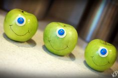 Mike Apples for a Monsters Inc. Party