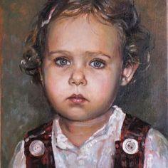 Portret dziewczynki 30x40cm