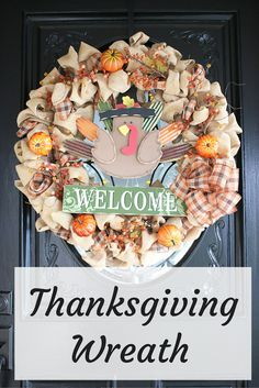 Foxy's Domestic Side: Thanksgiving Wreath