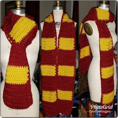 #gryffindor? The #washingtondc football team? Who ever you are a fan of this scarf is for you. $20 . . . . . . . . #wordpress #crochet #fashion #scarf #harrypotter #cosplay #blerdlife #madeinthedmv #202creates #soufsidecreative Crochet Fashion, Football Team, Wordpress, Harry Potter, Fashion Accessories, Cosplay, Fan, Instagram Posts, Design