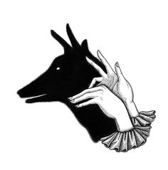 Deer Shadow puppet by Rheannon Ormond