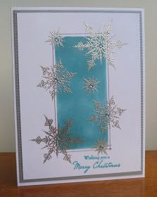 Stamps, Pencils and Paper!: Silver Snowflakes....