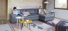 Alfombras modernas para su salón comedor intercambiables. Comprar alfombras Gan
