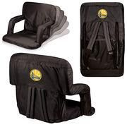 #NBAStore.com - #NBAStore.com Golden State Warriors Black Ventura Seat Portable Recliner Chair - AdoreWe.com