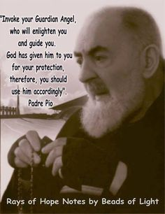 I pray daily to my guardian angel. One of my favorite prayers as a child and still to this day. - Padre Pio, invoke your guardian Angel Catholic Quotes, Catholic Prayers, Catholic Saints, Religious Quotes, Roman Catholic, Guardian Angel Prayer Catholic, Rosary Quotes, Religious Pictures, Catholic Catechism