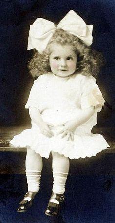 vintage photo child