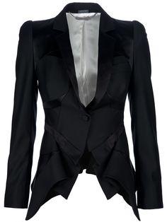 Alexander McQueen - Peplum Front Jacket