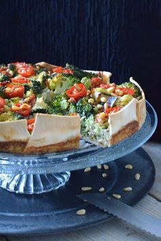Lactosevrije Broccoli Quiche