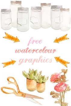 Free Watercolour Graphics.