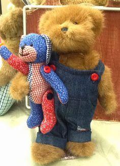 Keillor's A Teddy Bear Shoppe: 4th of July Boyds Bears