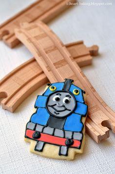 i heart baking!: thomas the train cookies    party favor idea...