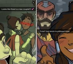Haha, Tenzin hates that Jinora likes Kai since he used to be a theif!