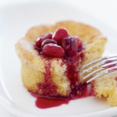 Corn Cakes and Spiced Cranberries Recipe - Peter Ireland | Food&Wine