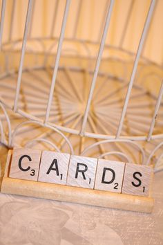 Cards Scrabble Graduation/Wedding by HidingPlaceBoutique on Etsy