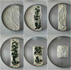 Zaatar, ένα φανταστικό επίπεδο ψωμί από την Παλαιστίνη ⋆ Cook Eat Up! Cheese Pies, Food And Drink, Plates, Vegan, Cooking, Tableware, Recipes, Tarts, Pizza