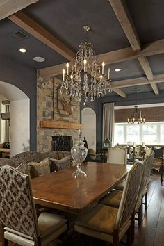 Gorgeous French Rustic Dining Room. (MLS #60465240)
