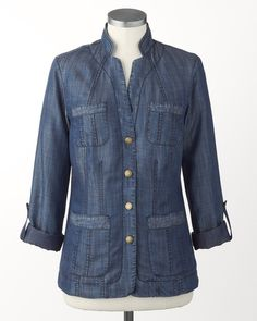 Tencel� jacket, from Coldwater Creek