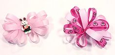 Easter & Valentines Day Unique Novelty Set of Two French Hair Clip Bows for Girls (P) A coordinated accessory finishes the outfit!  Read more http://cosmeticcastle.net/hair-care/easter-valentines-day-unique-novelty-set-of-two-french-hair-clip-bows-for-girls-p  Visit http://cosmeticcastle.net to read cosmetic reviews