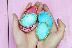 DIY Kristalle selber züchten mit Alaune und Eierschalen: Einfach & Günstig