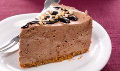 Chokoladenøddekage med dessertsauce. Skal prøves!