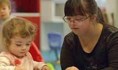 For once a teacher with Downs Syndrome teaches mainstream kids: http://ift.tt/2j8kBS0