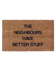 Better Neighbours Coco Doormat is on Rue. Shop it now.