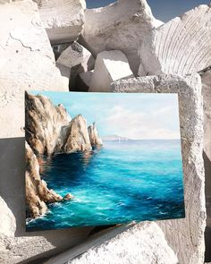 What is Your Painting Style? How do you find your own painting style? What is your painting style? Landscape Art, Landscape Paintings, Oil Paintings, Ocean Paintings, Small Canvas Paintings, Detailed Paintings, Arte Sketchbook, Mini Canvas Art, Pastel Art