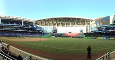 April 5, 2016 - Opening Day at Marlins Park, the home of the Miami Marlins.