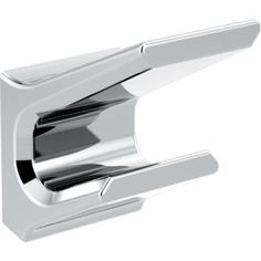 Delta Pivotal Polished Chrome Towel Hook at Lowe's. The Delta Pivotal Bath Collection makes a striking addition to any bathroom with its contemporary geometry. It's modern and minimalist lines add a Bathroom Spa, Bathroom Interior, Fathers Day Sale, Towel Hooks, Lowes Home Improvements, Kitchen And Bath, Polished Nickel, Contemporary, Modern