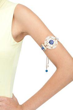 c20524a7378 Filigree detailed arm bracelet BY ATELIER MON. Shop now at  perniaspopupshop.com #perniaspopupshop