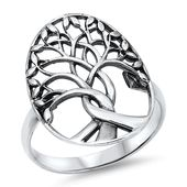 Sterling Silver Tree of Life Ring - Dream Land Wholesale Jewelry